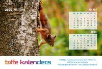 Bureaukalender Beestenboel 2020