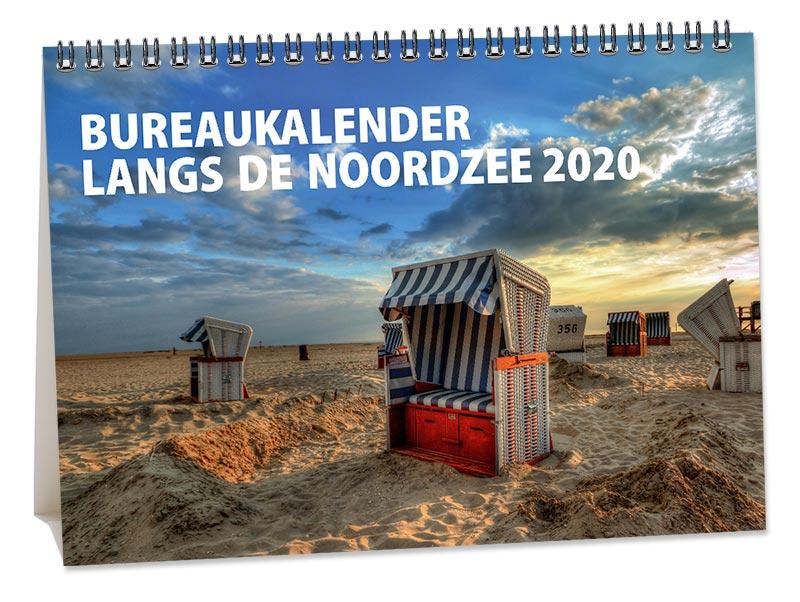 Bureaukalender Langs de Noordzee