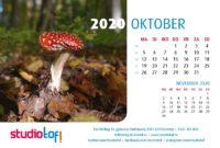 Bureaukalender Natuur 2020
