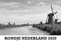 Bureaukalender Rondje Nederland 2020