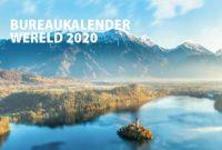 Bureaukalender wereld 2020