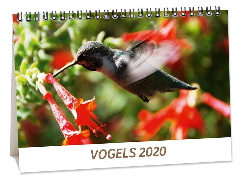 Bureaukalender Vogels
