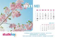 Bureaukalender Natuur 2021