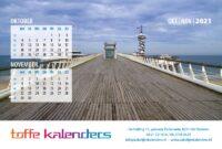 Bureaukalender Langs de Noordzee 2021