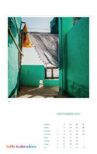 Wandkalender Wereld 2021