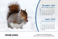 A5 Bureaukalender Beestenboel 2022