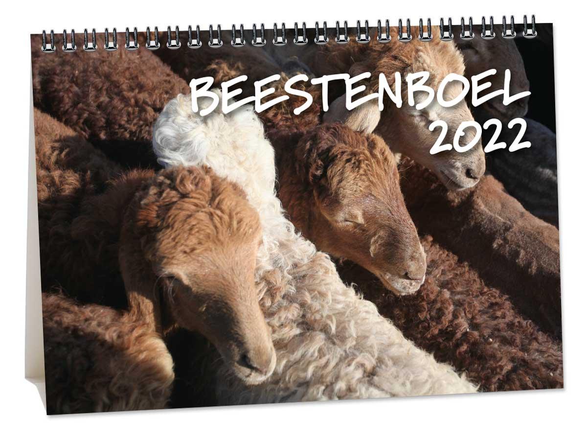 Bureaukalender Beestenboel