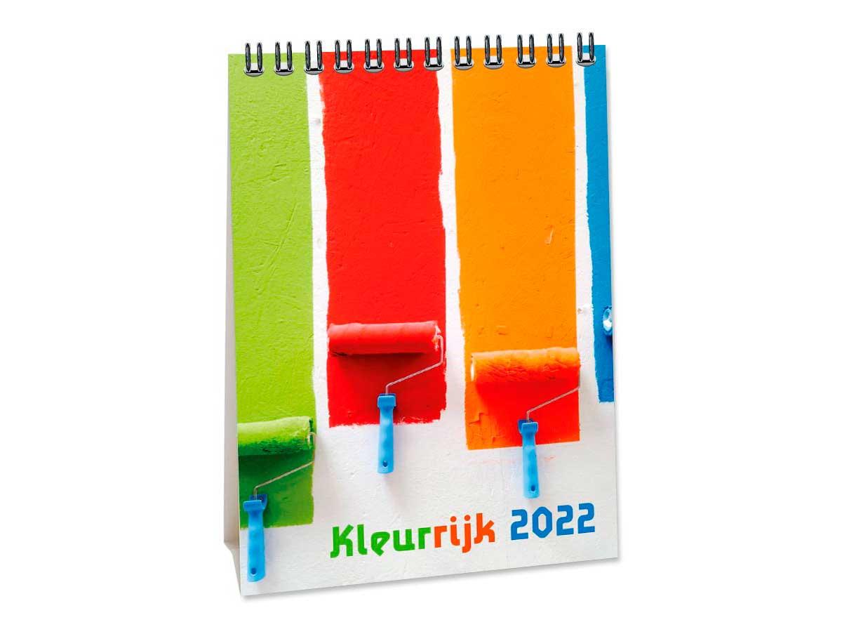 Bureaukalender Kleurrijk
