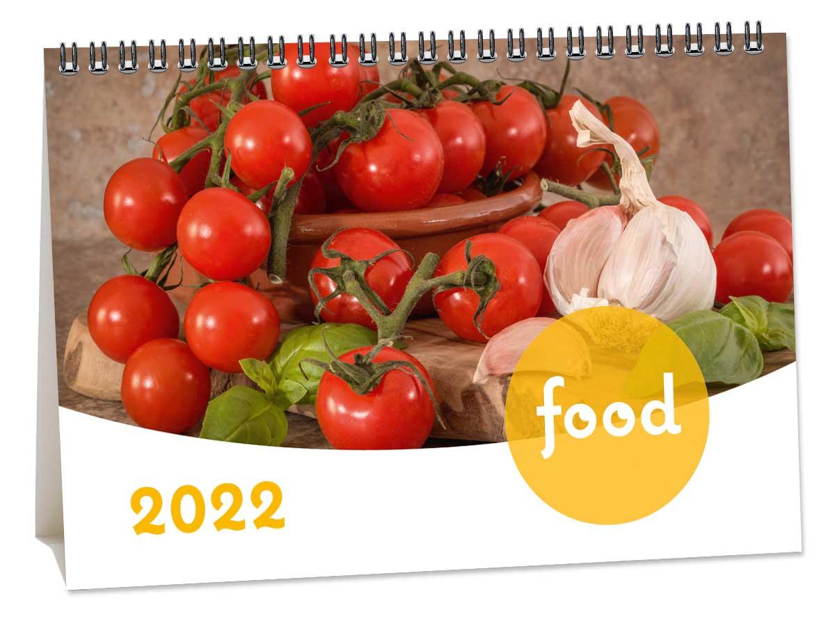 Bureaukalender Food