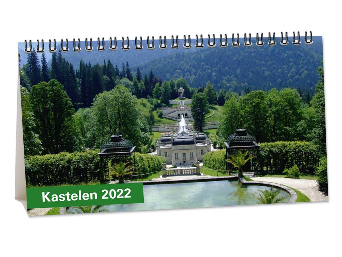 Bureaukalender Kastelen
