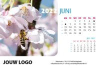 A5 Bureaukalender Natuur 2022