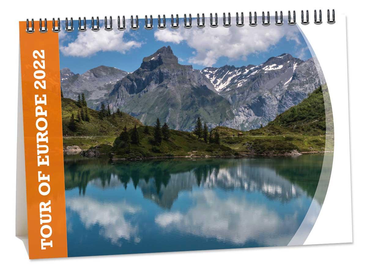 Bureaukalender Tour of Europe