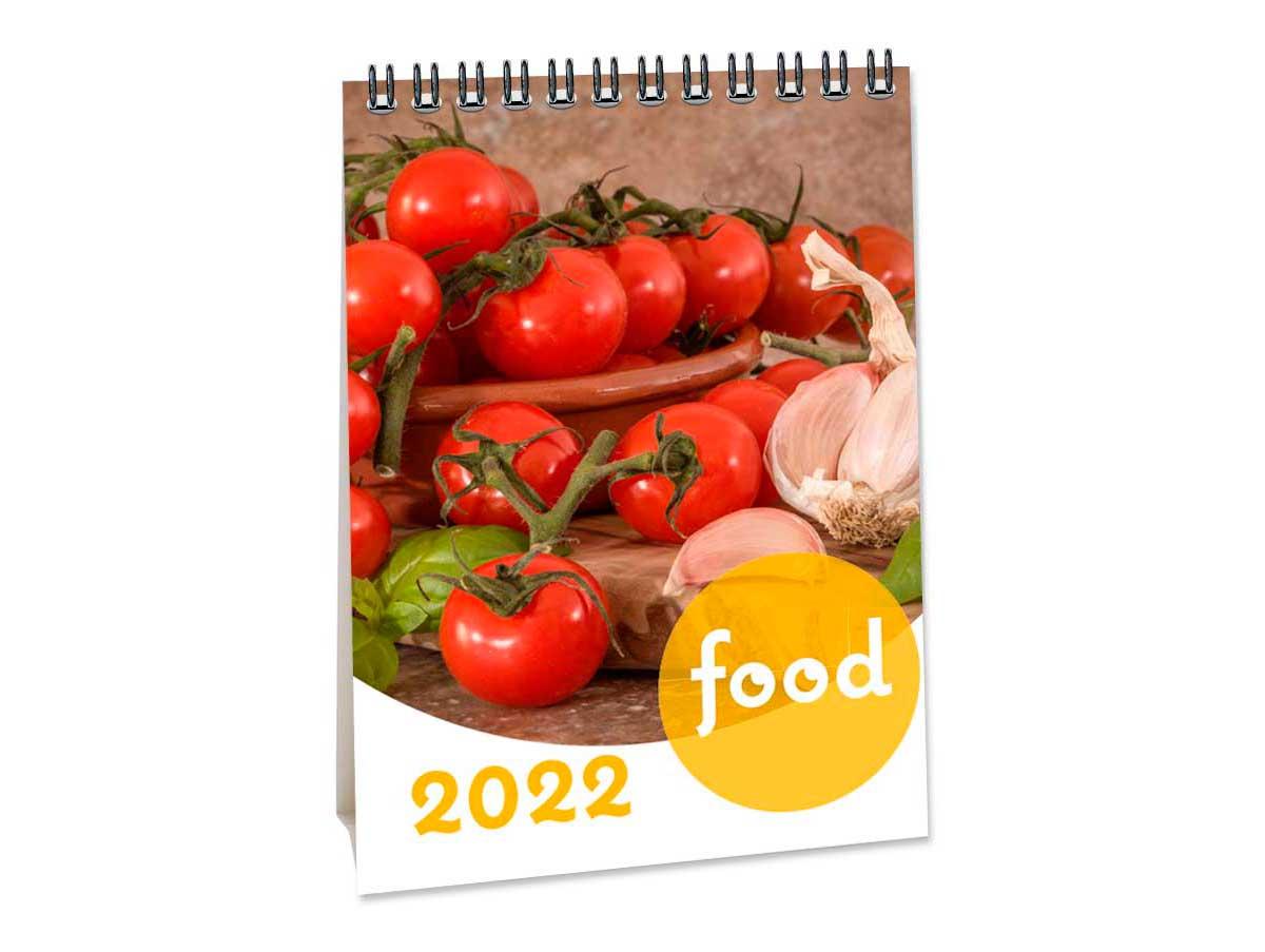 A6 Bureaukalender Food