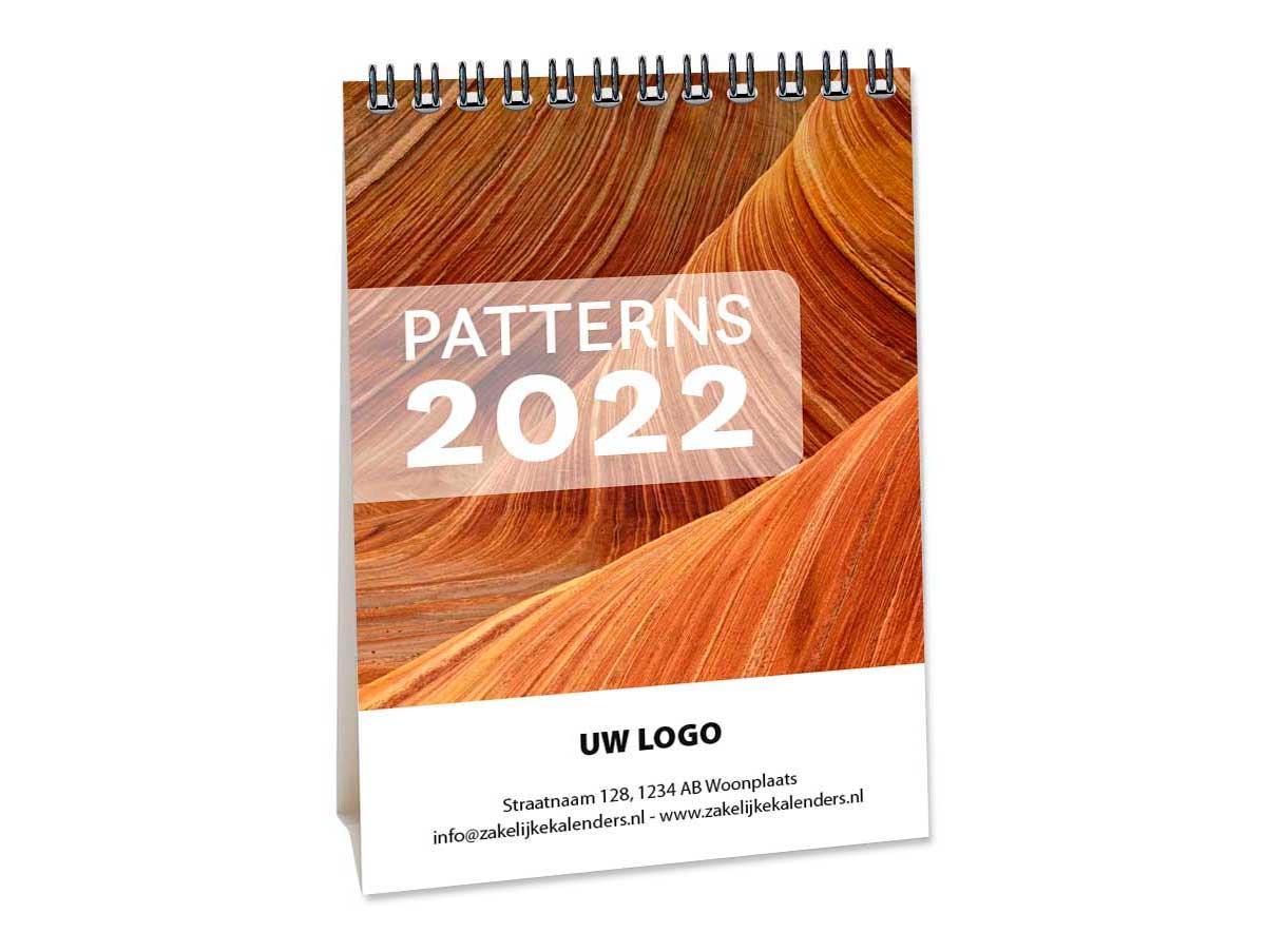 Bureaukalender Patterns A6