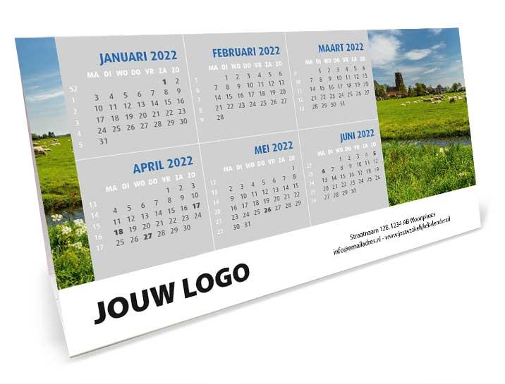 Bureaukalender Driehoek