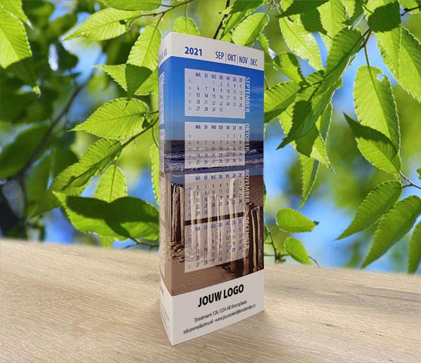 Een driehoek kalender | Bureaukalender | Driehoekkalender | Driehoekskalender | 2022